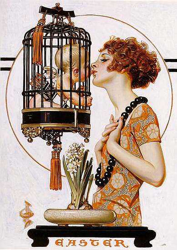 original painting by JC Leyendecker